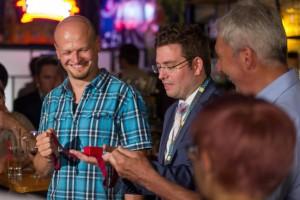 """""""Pop Up Magic"""" Zaubershow im Cafe Tachles an Karmeliterplatz"""